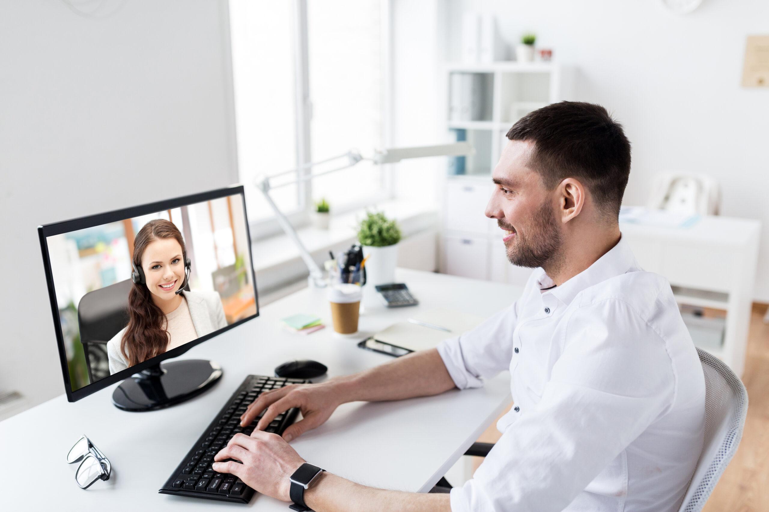 Pracovní pohovor dnes často probíhá formou online pohovoru.